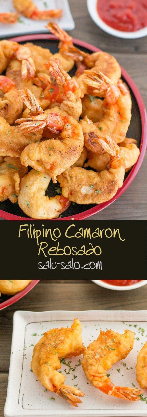 Camaron Rebosado (Deep Fried Battered Prawns)