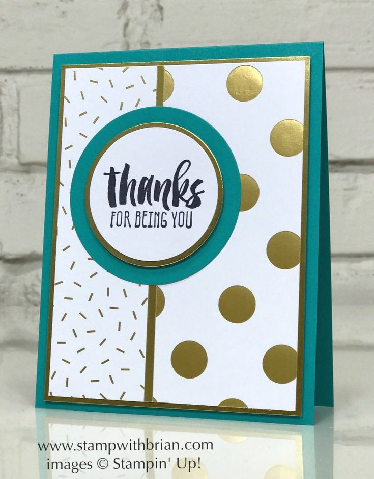 Suite Sayings, Stampin' Up!, Brian King, GDP082, thank you cards