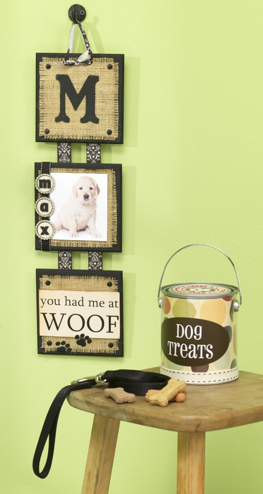 Show everyone how much you love your pup (or kitty).Decor Ideas, Crafty Things, Boy Rooms, Dyi Dog Frames, Boys Room