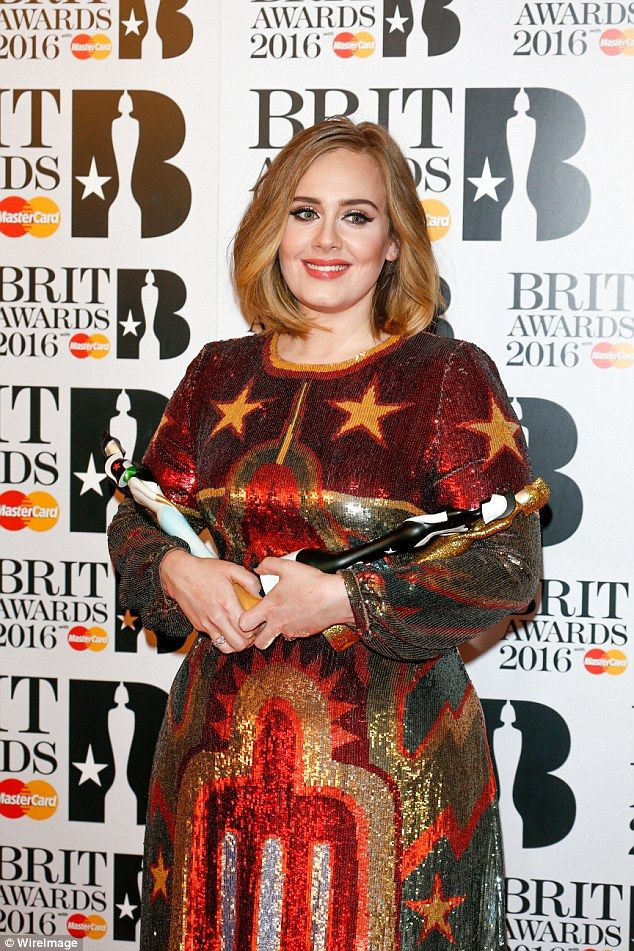 Award winner: The Grammy and Brit award winner is currently on her first ever tour of Australia, which will conclude in Melbourne on March 19