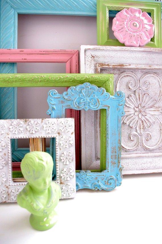 distressed vintage picture frames