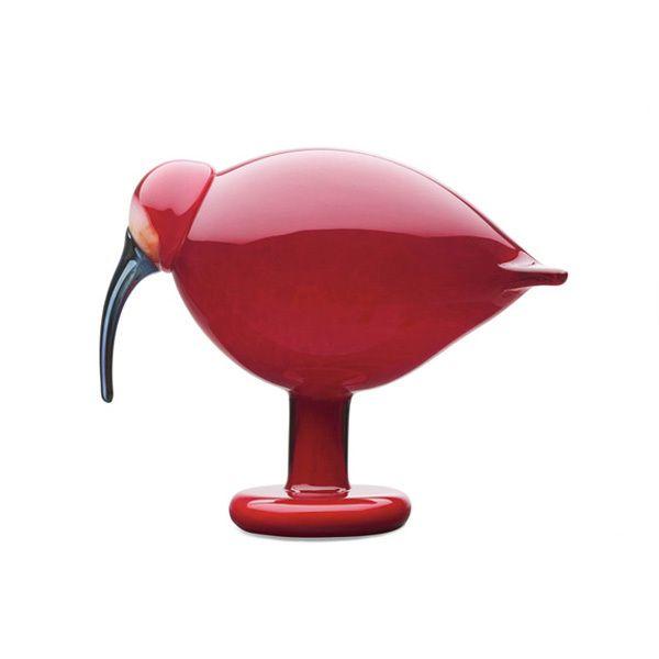 Birds by Toikka Ibis, punainen