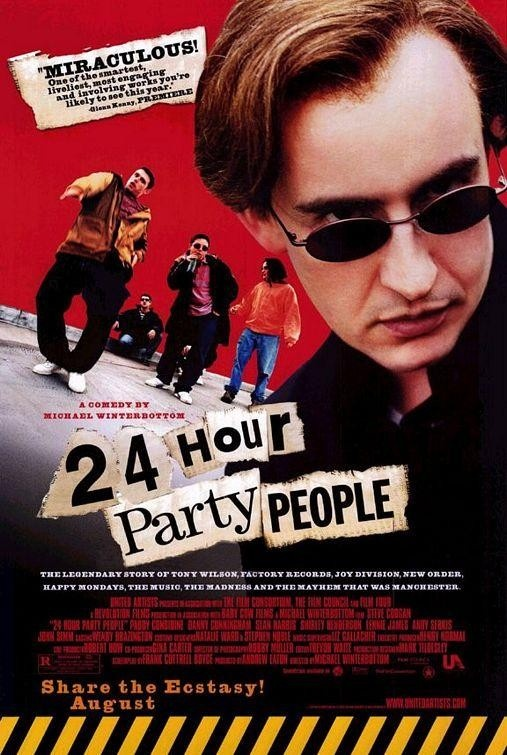 [2002] 24 HOUR PARTY PEOPLE /// Michael Winterbottom