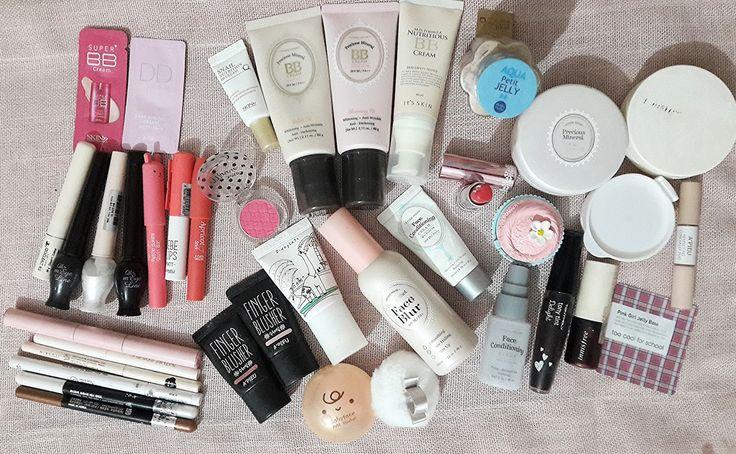 Cilt Bakımı, Makyaj ve Hayata Dair: Kore Kozmetik Markalarına ait Makyaj ve Cilt Bakımı Malzemelerim