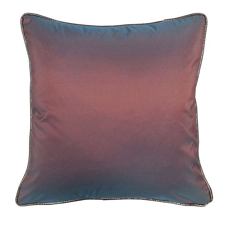 Taffeta Metallic Throw Pillow