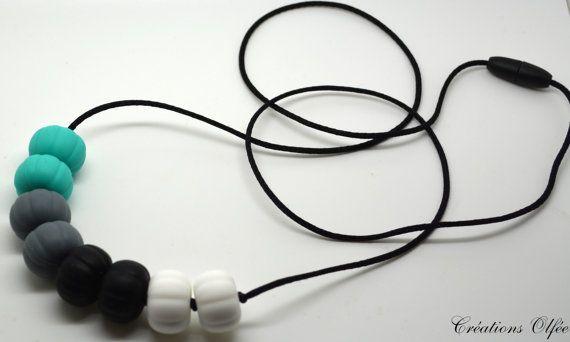 Collier de dentition allaitement et portage pour par CreationsOlfee