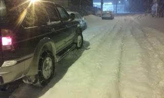 Tractari-Auto-Constanta.ro: Morning snow in Constanta