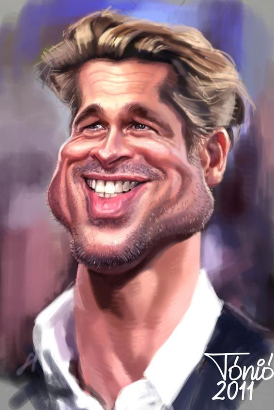 BRAD PITT  _____________________________ Reposted by Dr. Veronica Lee, DNP (Depew/Buffalo, NY, US)