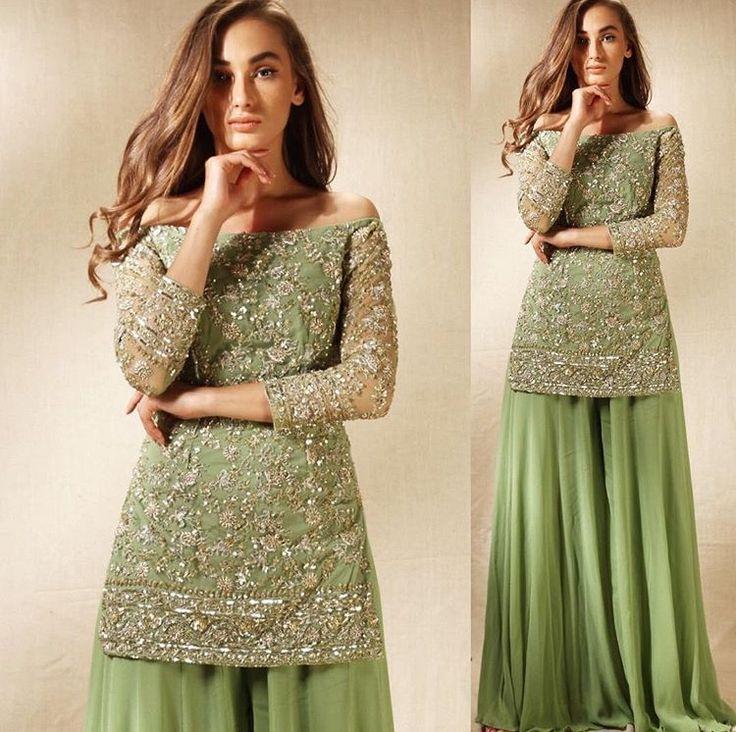 Astha Narang # sharara # indo western wear # Indian fusion weae
