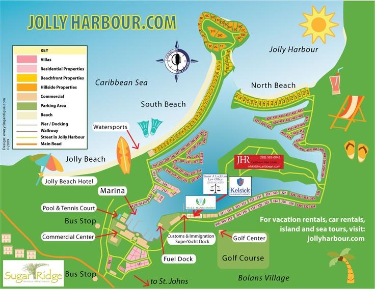 Best Antigua Jolly Harbour Images On Pinterest Caribbean - Antigua barbuda map caribbean sea
