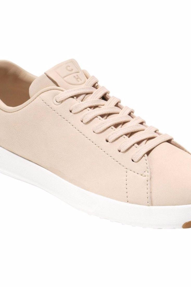 Beige Sneaker Trend: Cole Haan Grandpro Tennis Sneaker $130