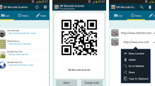 Top 6 QR Code/Barcode Scanner Apps for Android Device and You Can Easily Install These Apps From Google Play Store. Best QR Code Scanner Apps for Android.