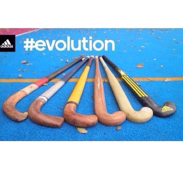 Field hockey stick evolution!
