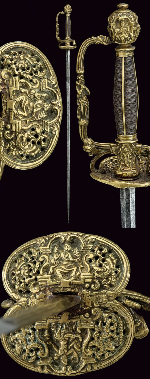A small-sword,    provenance: England dating: 18th Century.