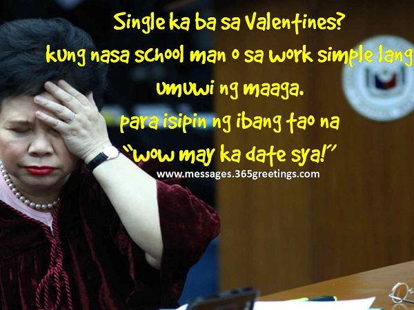 funny tagalog valentines day quotes - Miriam Defensor Santiago Pick Up Lines