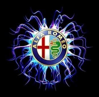 ART LOGO AUTO ITALY ALFA ROMEO