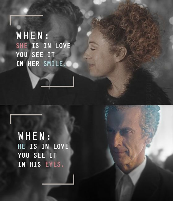 River Song and the Twelfth Doctor On Darillium