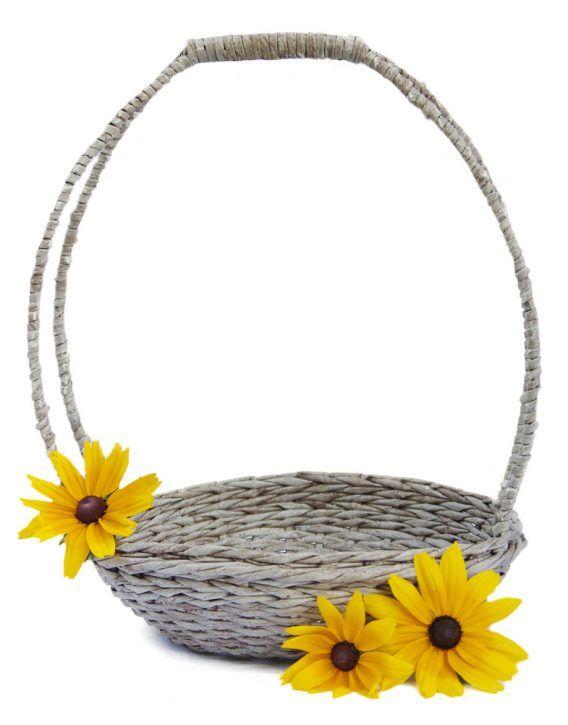 Wicker wedding basket