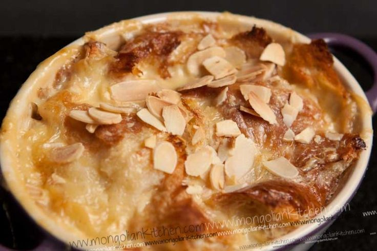 Creamy and rich Oum Ali - a warm Egyptian dessert recipe