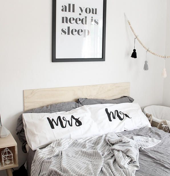 mr and mrs pillowcases - shop homeware