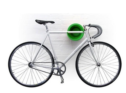 Jeri's Organizing & Decluttering News: Bicycle Storage: Wall-Mounted Bikes  that Look Good - Best 25+ Bicycle Wall Mount Ideas On Pinterest Bike Wall Mount