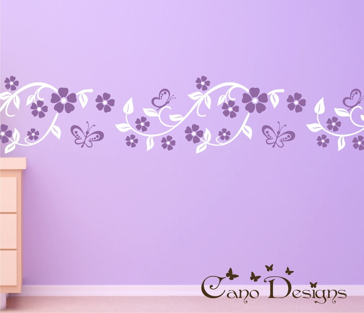 Best Wall Decals Images On Pinterest Decorating Ideas Vinyl - Vinyl wall decals borders