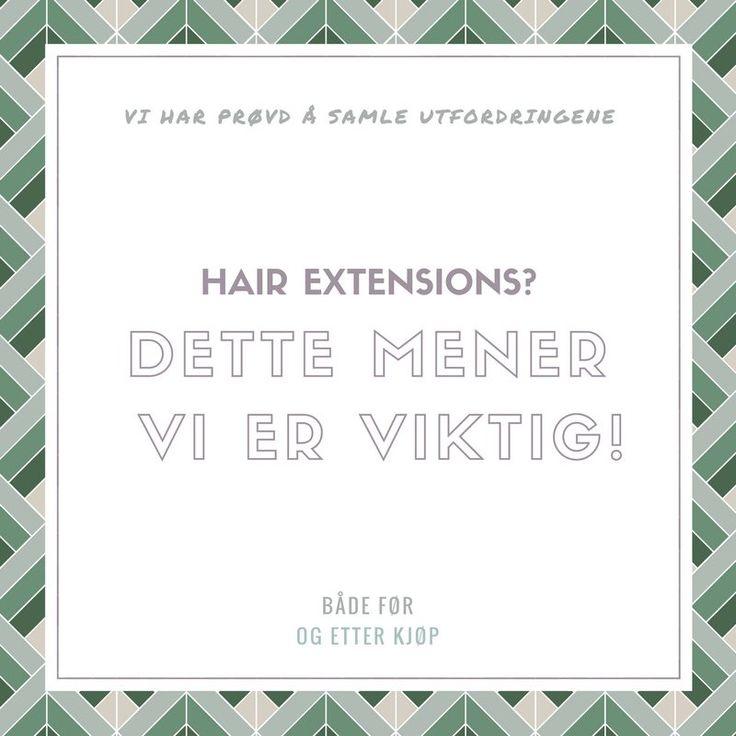 Viktig tips ved kjøp av hair extensions