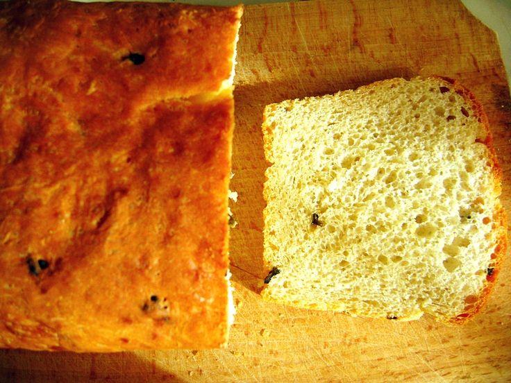 Najprostszy chleb pszenny na drożdżach