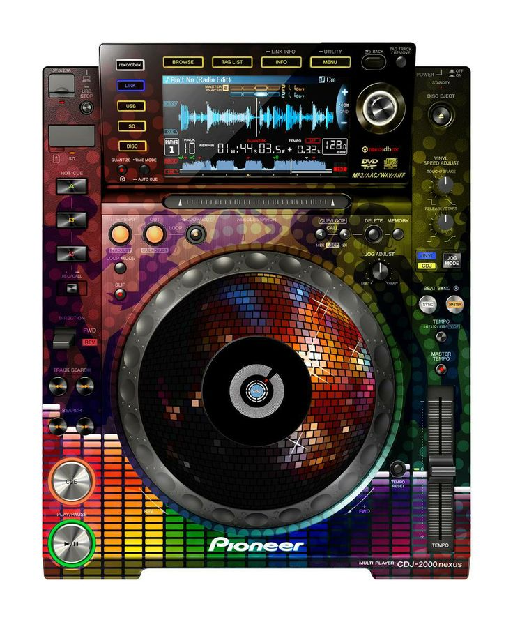 pin pioneer cdj 2000 - photo #20