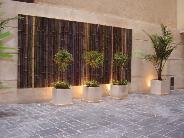 revestimiento exterior con tacuaras revestimientos pared