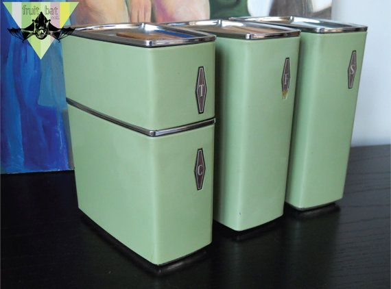 Gl Kitchen Canister Set | 126 Best My Girly Kitchen Images On Pinterest Kitchen