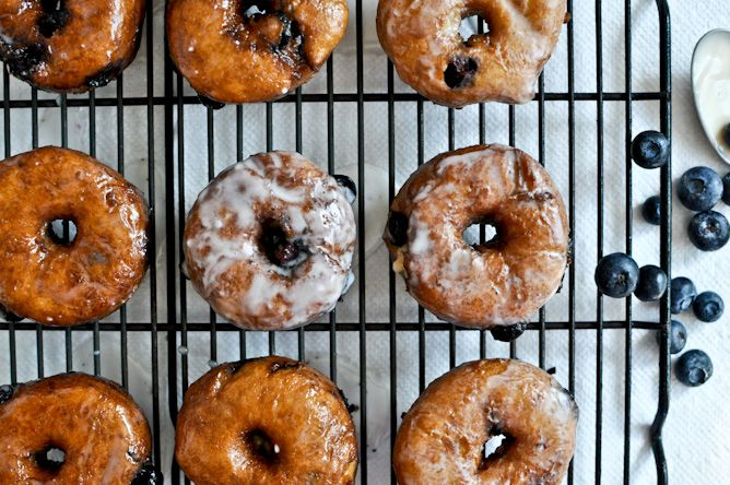 Blueberry Cake Donuts from @Jan Howard Sweet EatsAmazing Blueberries, Blueberries Donuts, Donuts Blueberries, Blueberries Glaze, Blueberries Cake Donuts, Homemade Glaze, Glaze Blueberries, Blueberry Cake Donuts, Blueberries Recipe