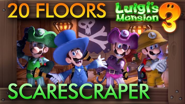 Luigi's Mansion 3 DLC 2 20 Floors Scarescraper in 2020