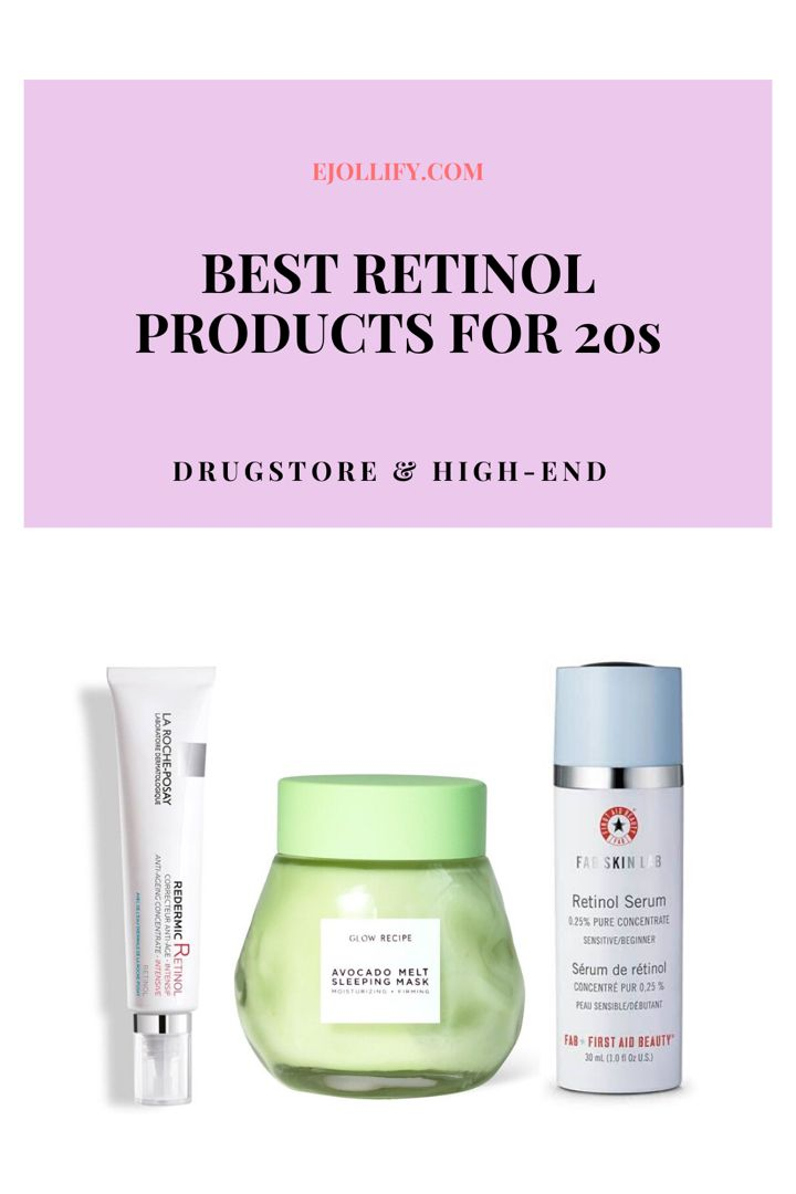 Best Retinol Products For 20s And Beginners Retinol Soothe Redness Healthy Skin Care Routine