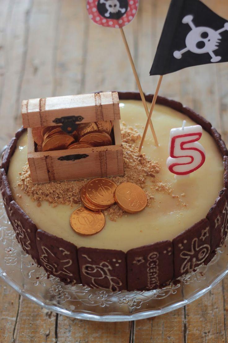 A economia cá de casa: Bolos de Aniversários Infantis: O bolo dos piratas...