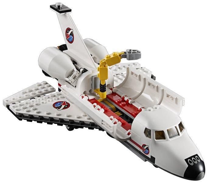 【Xmasおすすめ】今年登場したスペースシャトルの貨物室にはなんと人工衛星が格納されているんです。専用アームで、人工衛星の設置にチャレンジ!(レゴ シティ60080 宇宙センター) #クリスマス #プレゼント #スペースシャトル (LEGO_Group_JP)
