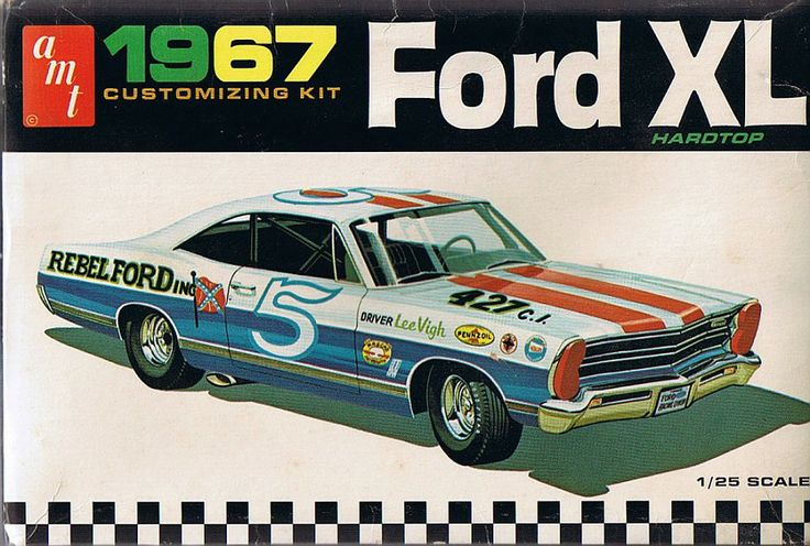 Resin Model Cars >> AMT Ford XL. | AMT MODEL CAR | Pinterest | Ford, Model car and Models