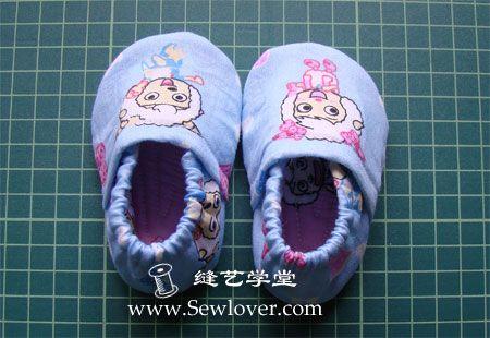 Tuto et patron petits chaussons taille 10, 11 et 12cm.
