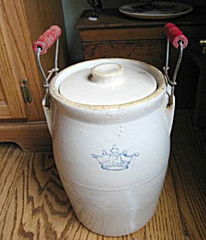 Antique Ransbottom pickle crock for sale at More Than McCoy at on TISA in the Pottery/Stoneware category! Get it before it's gone!