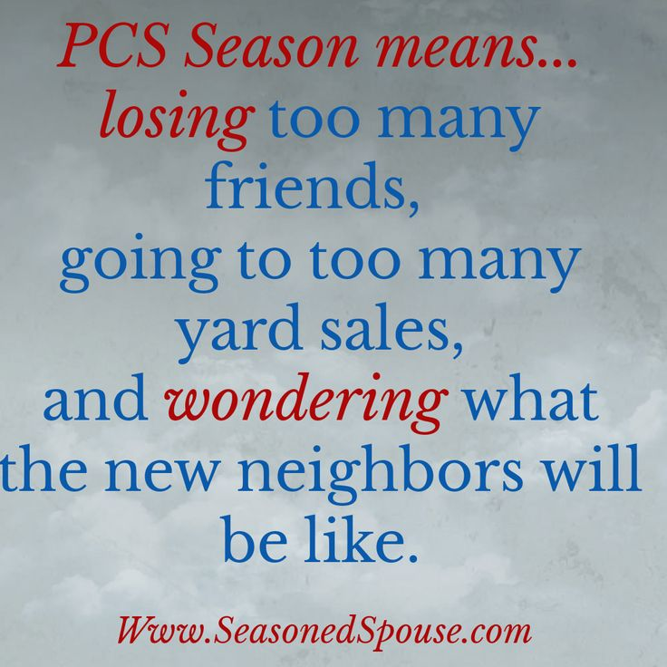 PCS season affects every military family, even those who don't move this year.