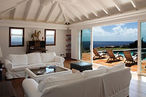 Villa Samar- St Barth. A 5 bedroom cliffside estate on 2 private acres at the east tip of beautiful St Barth F.W.I. www.stbarth.com/...