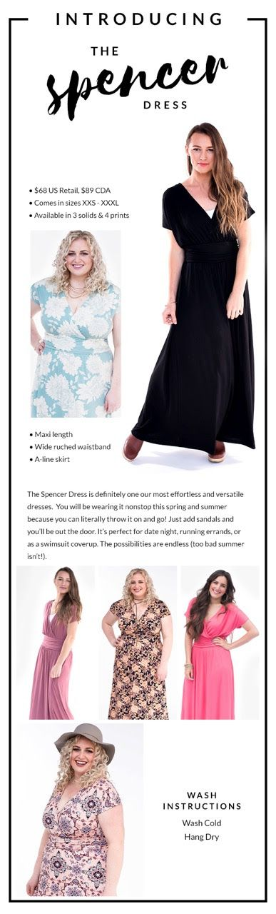 The NEW SPENCER DRESS by Agnes & Dora!  A fancy, fun dress that is floor length, and can be worn at any occasion.  Date Night with the hubby, church, Weddings, etc.