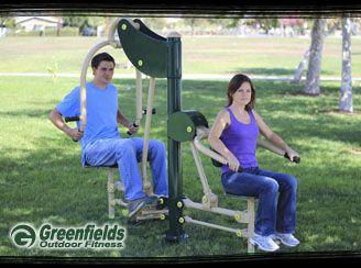 Greenfields Outdoor Fitness Equipment