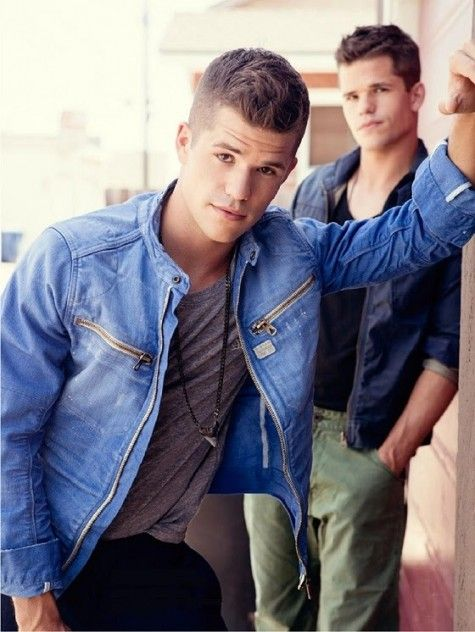 Teen Wolf 's handsome duo, Max and Charlie Carver