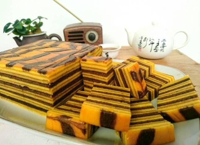 Resep Lapis Legit Coklat Resep Yongki Gunawan Oleh Selene Cake Resep Kue Lapis Resep Kue Camilan