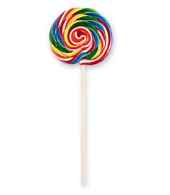 giant lollipop, of course!