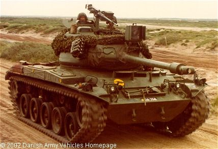 M41 Walker Bulldog Light Tank
