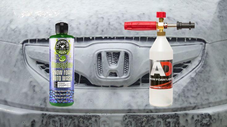 Snow Foam Shampoo Touchless Test : Chemical Guys Honeydew Snow Foam Auto Wash #autodetailing #detailing #mobiledetailing #cardetailing #cars