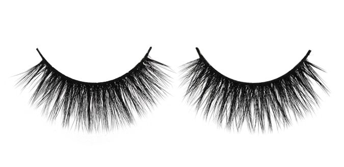 LUXURIOUS $30 FEMME FATALE 3D Angel Silk Strip Lashes Made of synthetic mellow fibres that mimic the texture of real mink fur. The thin and tapered fibres are placed in 2 layers on the soft lash band, giving the lash an emphasized fluffiness and feminine effect. Reusable up to 30 times 100% animal cruelty free Hand crafted Top quality