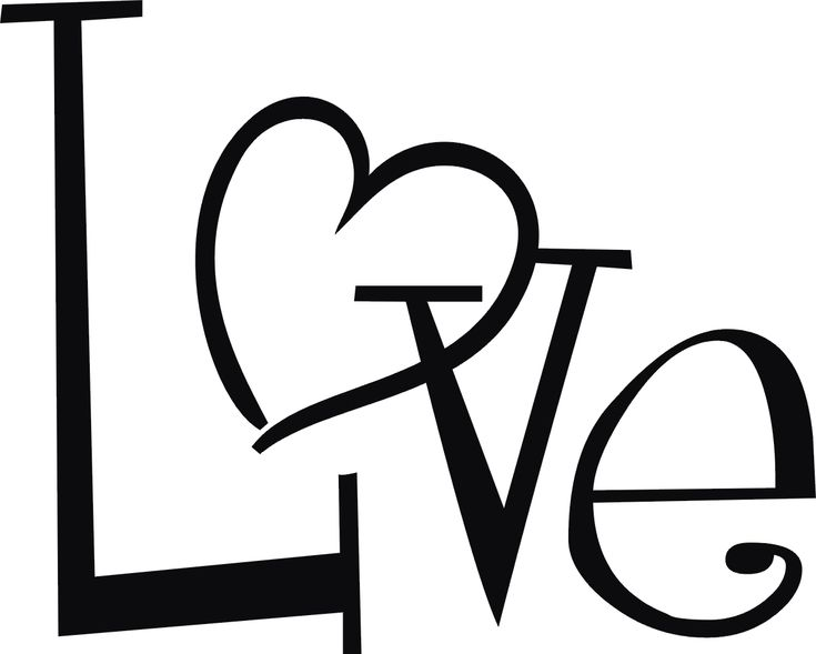 Simple Love Heart Drawing - ClipArt Best | Crafts | Pinterest ...